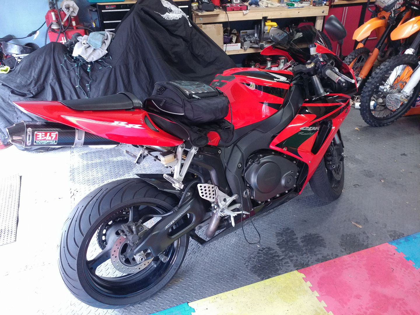 image of a sport motorcycle